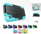 for HTC Desire Eye| Sleek Rugged Hard/Soft Stand Skin Case Cover+PryTool