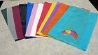 Small  7 x3 x12  Plastic Merchandise Shopping Bags You Pick Color & Lot Qty.