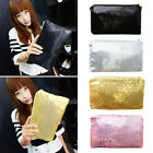 Glitter Sparkling Sequins Dazzling Clutch Handbag Bling Purse Evening Party Bag
