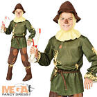 Wizard of Oz Scarecrow Boys Fancy Dress Book Week Kids Childrens Costume Outfit