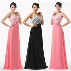 Vintage Applique Homecoming Sexy Long Formal Bridesmaid Evening Party Dresses