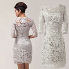 lace half sleeve sexy mother of the bride/groom dress women formal occasion dres
