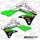 KAWASAKI TEAM RACING SHROUD GRAPHICS VELOCITY SUPERCROSS DECALS DECO STICKERS