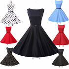 FREE&SALE Vintage 50s Rockabilly Bridesmaid Ball Gown Evening Prom PARTY DRESSES