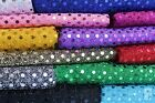 20 METRE ROLL - BULK PRICE - 3mm SEQUIN FABRIC - ONE WAY STRETCH