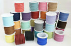 Suede Cord Faux Leather Lace Stringing Craft Jewelry  Supply 3mm- Choose Color.