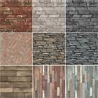 RUSTIC EFFECTS WALLPAPER BY FINE DÉCOR – STONE, BRICK, WOOD & SLATE