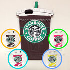 iPhone6 6Plus 5,5s 44s Starbucks Coffee Frappuccino Drink Silicone Soft Case+Box