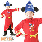 Mickey Mouse Boys Fantasia Disney Fancy Dress Kids Childrens Childs Costume New