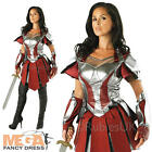 Thor 2 Sif Dress Ladies Fancy Dress Dark World Superhero Womens Costume Outfit