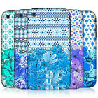 HEAD CASE DESIGNS FLORAL BLUE HARD BACK CASE FOR APPLE iPHONE 3GS