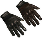 Richa Cordoba Motorcycle Gloves Leather Textile Vintage CE Armour Motorbike Bike