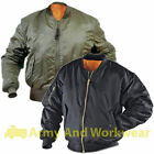 KIDS MA1 MILITARY ARMY PILOT SECURITY DOORMAN MOD BOMBER JACKET BIKER - UK MADE