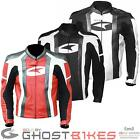 Axo MG1 Leather Motorcycle Jacket Motorbike Sports Racing Armoured Ghostbikes