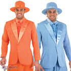 MENS DUMB AND DUMBER MOVIE FILM PIMP GANGSTER SUIT FANCY DRESS COSTUME