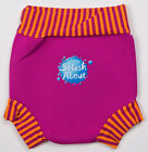 SPLASH ABOUT BABY SWIM NAPPY & SUN SAFE HAPPY NAPPY PINK MANGO STRIPE