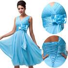STOCK Bridesmaid Women Sexy Chiffon Evening Prom Graduation Cocktail Party Dress