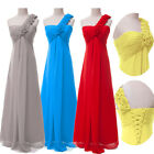 PLUS SIZE Long Chiffon Formal Evening COCKTAIL Bridesmaid Party Prom Dresses 16
