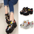 Catton printed sweet sneakers chunky gothic oxfords sandals lace up creeper shoe