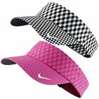 2015 Ladies Nike Seasonal Adjustable Womens Gingham Golf Visor