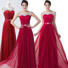 Beaded SEXY NEW Long Formal Evening Ballgown Bridesmaid Prom Dress Party Dresses