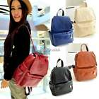 Women's Backpack Travel PU Leather Rucksack Handbag Shoulder School Bag N4U8