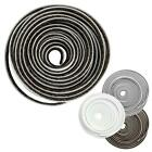 5M Roll Self Adhesive Draught Excluder Brush Pile Windows Doors Draft Proof Seal