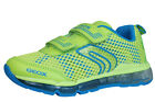 Geox J Android B Boys Velcro Trainers / Shoes - Lime - C3346 See Sizes
