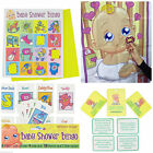 BABY SHOWER PARTY GAMES CHALLENGES MOMENTO BOOKS PREDICTION TESTS PREGNANCY FUN