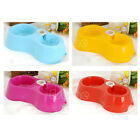 New Pet Dog Cat Puppy Automatic Water Dispenser Food Dish Bowl Feeder