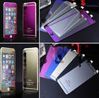Mirror Effect for iPhone 4 5s 5C 6 6plus Colors Tempered Glass Screen Protector