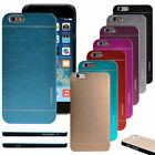 Motomo Luxury Metal Aluminum Brushed+PC Hard Back Cover Case For iPhone 6 5/5S 4