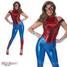 LADIES SPIDER-GIRL MARVEL SUPERHERO FANCY DRESS COSTUME