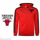 adidas ESSENTIALS KIDS CHICAGO BULLS HOODY SIZE 10 12 14 16 YEARS OFFICIAL RED