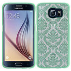 For Samsung Galaxy S6 TPU LACE GUMMY Hard Skin Case Phone Cover Accessory