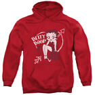 Betty Boop Cartoon Comic Icon Lover Girl Valentine Betty Adult Pull-Over Hoodie $45.95 USD