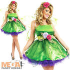 Fairy Nymph + Wings Ladies Fancy Dress Mystical Fairytale Womens Costume Outfit