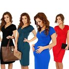 Pregnant Women Short Sleeve Dress Maternity Cotton Soft Casual Summer Dress NEW