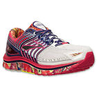 AUTHENTIC Brooks Glycerin 12 White Multi Red Blue # 1201601B 175 Women Running