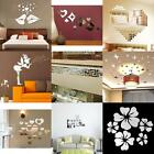 Acrylic Plastic Mirror Wall Removable Decal Art Mural Home Decor Vinyl Stickers