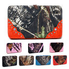 Mossy Oak Camouflage Purse Pink Camo Wallet Frame Wallet with Croco Studs Trim
