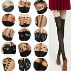 Stylish Sexy Black Cute Cat Splice Socks Sheer Pantyhose Mock Stockings Tights