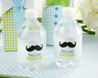 24 Personalized My Little Man Water Bottle Labels Baby Shower Birthday Favors
