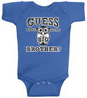 Threadrock Baby Boys Guess Hoo's Going to Be a Big Brother Infant Bodysuit Owl