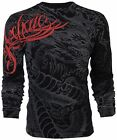 ARCHAIC by AFFLICTION Mens LONG SLEEVE T-Shirt DRAGON RAGE Tattoo Biker MMA $58