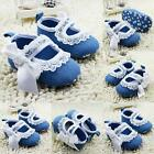Trendy Soft Princess Baby Girl Toddler Infants Lace Bowknot Crib Dress Shoes A67