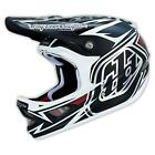 2015 TROY LEE DESIGNS TLD D3 HELMET SPEEDA MATTE WHITE BIKE RACE BMX 0325-11