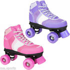 NEW ROOKIE FOREVER GIRLS CHILD JUNIOR ADULTS  LACE UP ROLLER SKATES 2015 DESIGN