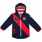 Manchester United FC Official Football Gift Baby Boys Hooded Jacket