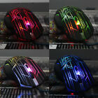 3200 DPI 6 Button LED Optical Wired Mouse Mice мышь For PC Laptop Game Trendy